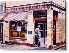 Oyster  House Acrylic Print by James Guentner
