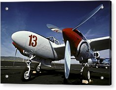 P-38 Lightning Lucky 13 Acrylic Print