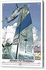 P-47 Thunderbolt Acrylic Print