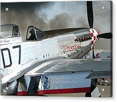 P-51 Worry Bird Acrylic Print
