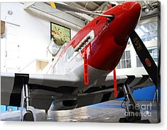 P-51b Mustang Replica Fighter Plane . 7d11157 Acrylic Print by Wingsdomain Art and Photography