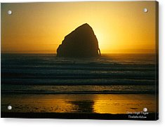 Pacific City Sunset Acrylic Print