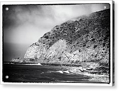 Pacific Coast Highway View Acrylic Print by John Rizzuto