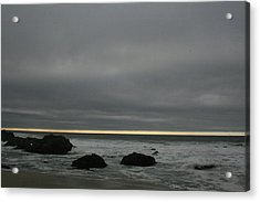 Pacific Ocean At Bodega California Acrylic Print