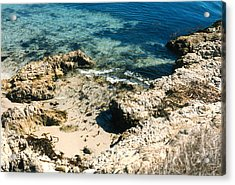 Acrylic Print featuring the photograph Pacific Ocean At Monterey One by Louis Nugent