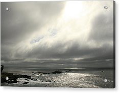 Pacific Ocean At Point Lobos California Acrylic Print by Suzanne Lorenz