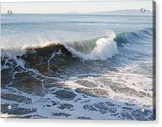 Pacific Ocen Acrylic Print by Richard Adams