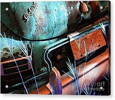Packard On Ice Acrylic Print by Joe Jake Pratt