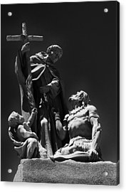 Padre Garces Acrylic Print by Franklin Jeffers