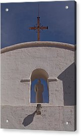 Acrylic Print featuring the photograph Padre In Tower by Tom Singleton