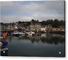 Padstow Harbour Acrylic Print by Christopher Mercer