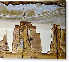 Paesina Stone Acrylic Print by Dirk Wiersma