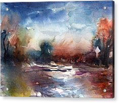 Painland #34 Acrylic Print
