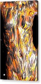 Paint Smears Acrylic Print