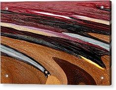 Paint Strokes Acrylic Print by Pam Gleichman