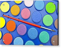 Paintbox Acrylic Print by Joana Kruse