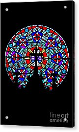 Acrylic Print featuring the photograph Painted Glass by Randall  Cogle