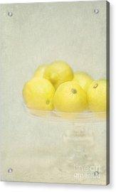 Painterly Lemons Stilllife Acrylic Print