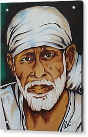 Painting With Markers Acrylic Print by Armin Irani