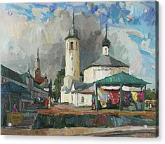 Paints Of Old Suzdal Acrylic Print