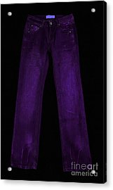 Pair Of Jeans 4 - Painterly Acrylic Print by Wingsdomain Art and Photography