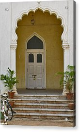 Acrylic Print featuring the photograph Palace Door by David Pantuso
