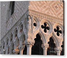 Palace Ducal. Venice Acrylic Print by Bernard Jaubert