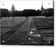 Palace Square In Saint Petersburg Acrylic Print by Design Remix