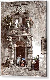Palazzo Sardagna Trento Acrylic Print