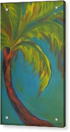 Palm Fusion Acrylic Print by Lacey Wingard