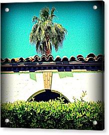 Palm Springs Desert Spanish 4 Acrylic Print by Randall Weidner