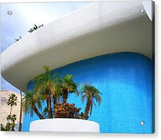 Palm Springs Modernism Acrylic Print by Randall Weidner