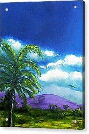 Palma Real Acrylic Print by Maria Soto Robbins