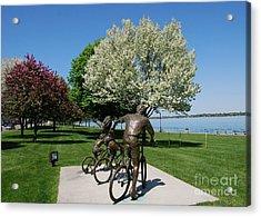 Palmer Park In Spring 2 Acrylic Print