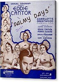 Palmy Days Acrylic Print