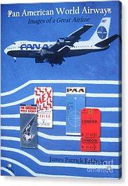 Pan American World Airways Acrylic Print by Lesley Giles