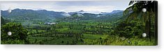 Acrylic Print featuring the photograph Panoramic 2- St Lucia by Chester Williams