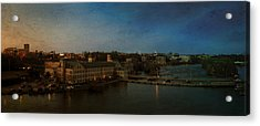 Panoramic Appleton Skyline Acrylic Print