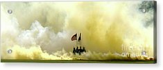 Panoramic Us Army Graduation Acrylic Print