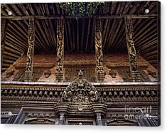 Panote Temple Struts - Nepal Acrylic Print by Craig Lovell
