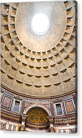 Acrylic Print featuring the photograph Pantheon  by Luciano Mortula