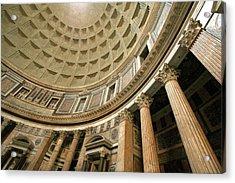 Pantheon Rotunda Columns Acrylic Print