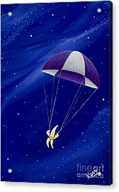 Para-shooting Star 2 Acrylic Print by Kerri Ertman