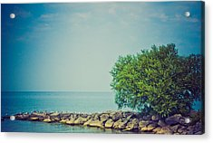 Acrylic Print featuring the photograph Paradise Cove by Sara Frank
