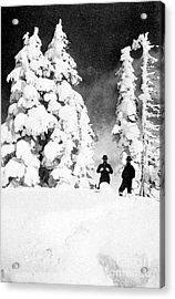 Paradise Inn, Mt. Ranier, 1917 Acrylic Print by Science Source