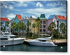 Acrylic Print featuring the photograph Paradise Island Style by Steven Sparks