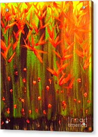 Paradise Jungle Acrylic Print