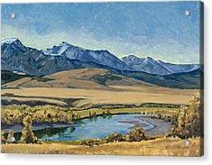 Paradise Valley Acrylic Print