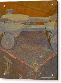 Parallel Skates Acrylic Print by Diane montana Jansson