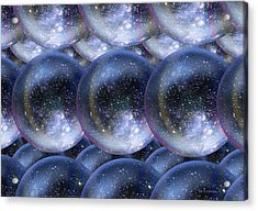 Parallel Universes Acrylic Print by Detlev Van Ravenswaay